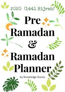 Pre Ramadan & Ramadan Planner Cover