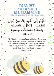 Dua by Prophet Muhammad