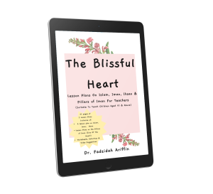 mockup ebook blissful heart
