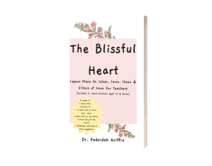 mockup paperbook blissful heart