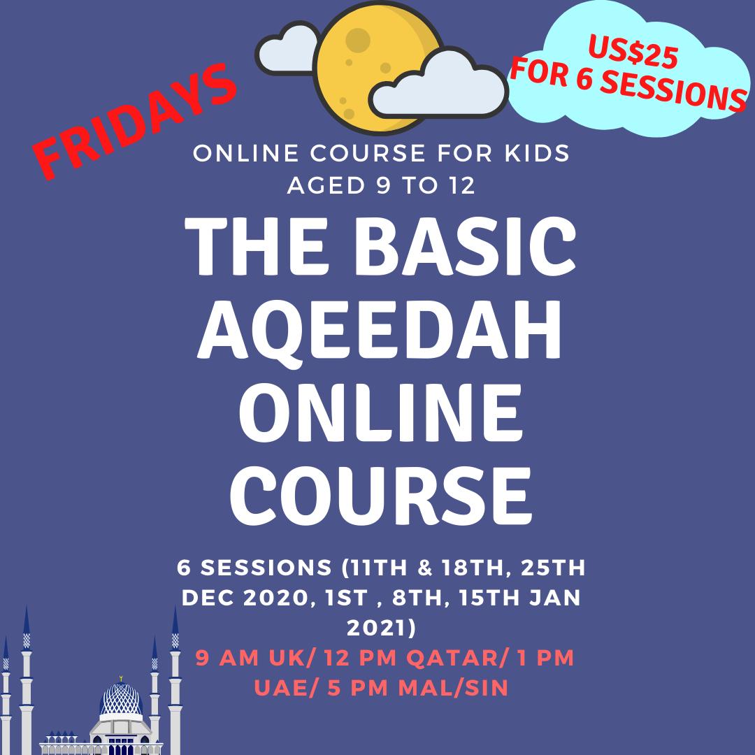 THE basic aqeedah online course (2)